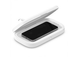 Belkin UV Sanitizer with Wireless Charger BOOST CHARGE White