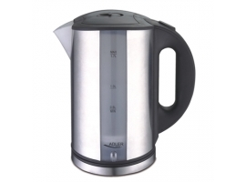 Adler Kettle AD 1216 Standard  Stainless steel  Stainless steel  2000 W  360° rotational base  1.7 L
