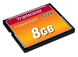 TRANSCEND TS8GCF133 Transcend karta pamięci Compact Flash 8GB High Speed 133x