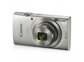 "Canon IXUS 185 Compact camera  20 MP  Optical zoom 8 x  Digital zoom 4 x  Image stabilizer  ISO 800  Display diagonal 2.7 ""  Focus TTL  Video recording  Lithium-Ion (Li-Ion)  Silver"