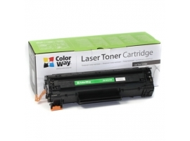 ColorWay Toner Cartridge  Black  HP CB435A CB436A CE285A; Canon 712 713 725