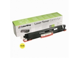 ColorWay Toner Cartridge  Yellow  HP CE312A (126Y); Canon 729Y