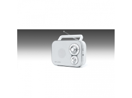 Muse Portable Radio M-051RW White  AUX in