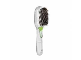 Braun BR750 Satin Hair Ionic Brush  White Braun BR750 Green  White