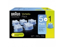 Wkłady do golarki Braun CCR5 + 1 cleaning cartridges  6 pack