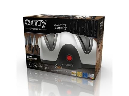 Camry Knife sharpener CR 4469 Electric  Black Silver  60 W  2