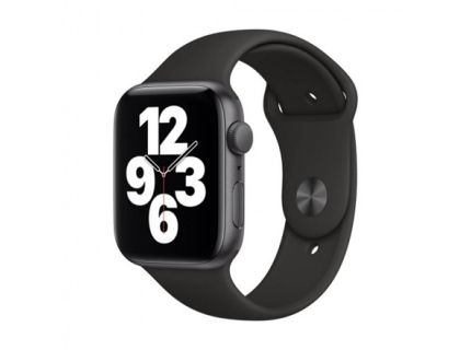 Apple SE GPS Smart watch  GPS (satellite)  LTPO OLED Retina  Touchscreen  Heart rate monitor  Waterproof  Bluetooth  Wi-Fi  Black