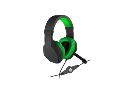 GENESIS ARGON 200 Gaming Headset  On-Ear  Wired  Microphone  Green