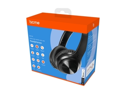 Acme Headphones BH316 Wireless over-ear  Black  Built-in microphone  ANC