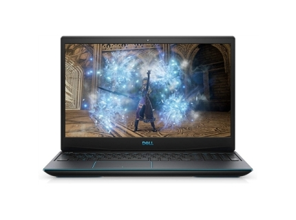 "Laptop Dell G3 15 3500  Blue logo 15.6"" i5-10300H 8GB 512GB GTX 1650 Ti Win10Home Black"