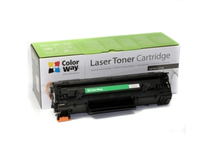 ColorWay Toner Cartridge  Black  Canon: 725  HP CE285A