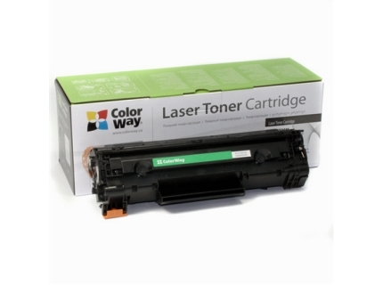 ColorWay Toner Cartridge  Black  Canon: 728 726  HP CE278A