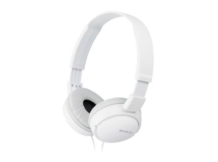 Sony headphones ZX Series MDRZX110APW Outdoor headband  White